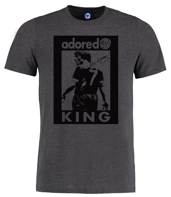 Adored King Kenny Dalglish Liverpool Legend Pop Art T-Shirt