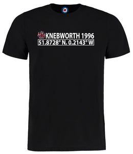 Knebworth 1996 Oasis Coordinates I Was There T-Shirt