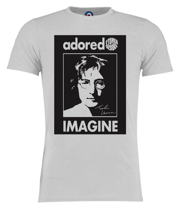 John Lennon Adored The Beatles Imagine Pop Art T-Shirt