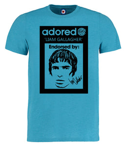 Adored Oasis Liam Gallagher T-Shirt