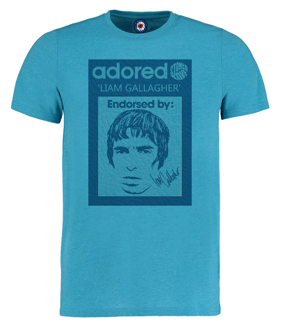 Oasis Adored Liam Gallagher Pop Art T-Shirt