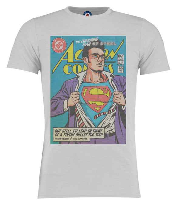 Man Of Steel Morrissey The Smiths SuperMan T-Shirt