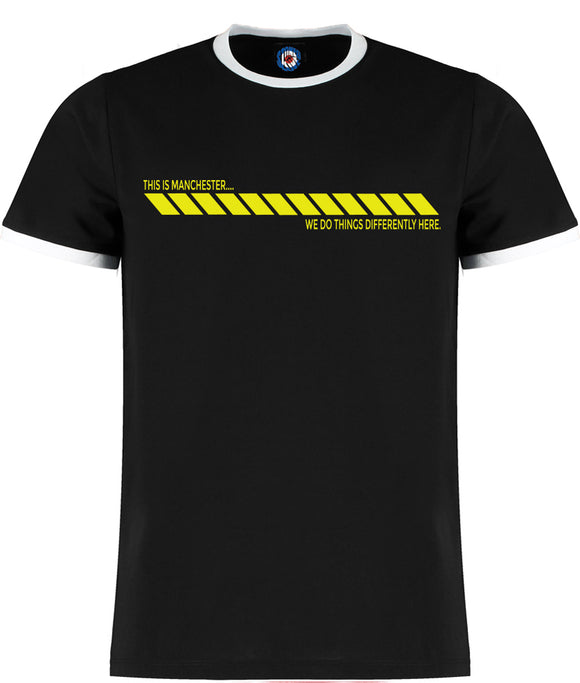 This Is Manchester Hacienda Quality Ringer T-Shirt - 5 Colours