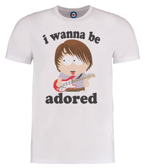 I Wanna Be Adored Mani South Park Style Stone Roses T-Shirt