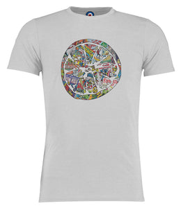 Stone Roses Marvel Lemon Comic Style T-Shirt - 3 Colours