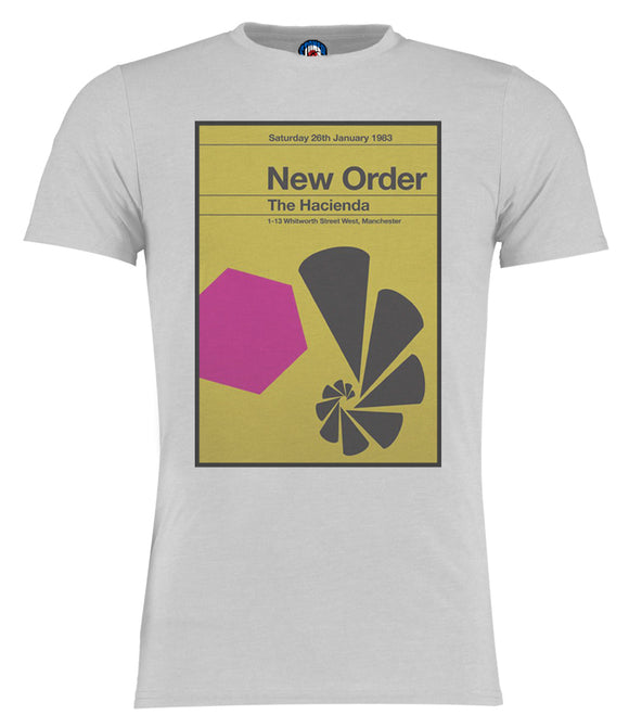 New Order Hacienda 1983 Vintage T-Shirt