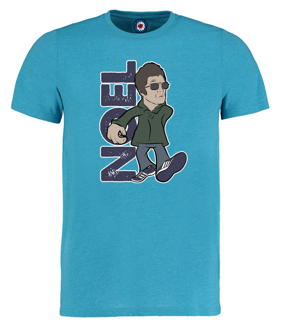 Noel Gallagher Designed By Parka Monkey T-Shirt - 7 Colours
