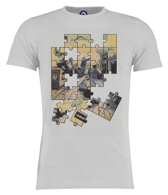 Oasis Definitely Maybe JigSaw T-Shirt