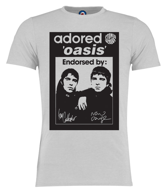 Adored Oasis Gallagher Brothers T-Shirt - 6 Colours