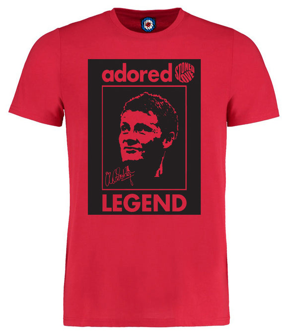 Adored Ole Gunnar Solskjær Legend T-Shirt - 5 Colours