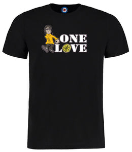 One Love Ian Brown Designed By Parka Monkey T-Shirt - 6 Colours