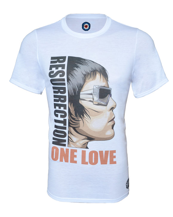 Ian Brown One Love Resurrection Stone Roses Pop Art T-Shirt