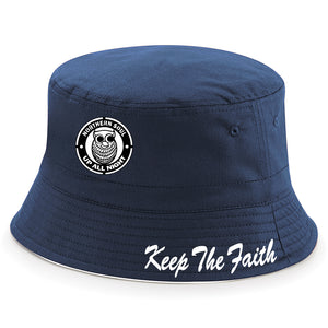 Up All Night Northern Soul Keep The Faith Bucket Hat