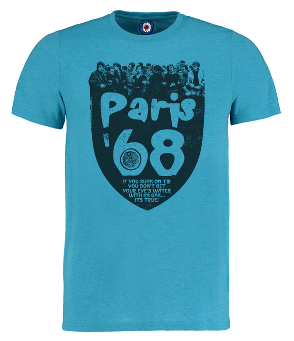 Stone Roses Paris 68 Riots T-Shirt