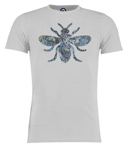 Jackson Pollock Manchester Bee Stone Roses T-Shirt