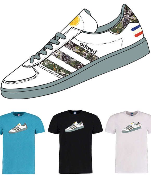Adored Lemon Trainer T-Shirt - 7 Colours