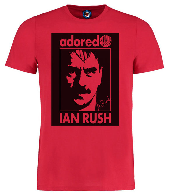 Adored King Ian Rush Liverpool Legend Pop Art T-Shirt