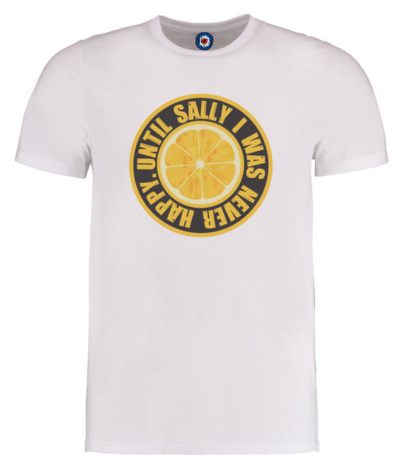 Until Sally I Was Never Happy Lemon Stone Roses T-Shirt