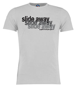 Slide Away & Give It All You Got Oasis T-Shirt - Adults & Kids Sizes