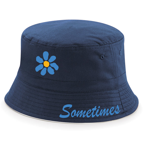 Daisy Flower James Sometimes Bucket Hat