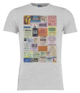 I Was There Was You ? Gig Ticket Oasis – Pulp – Shack – Soup Dragons – Ride T-Shirt