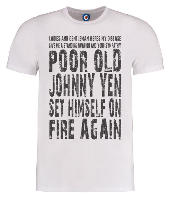 James Johnny Yen Lyrics T-Shirt