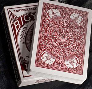 125 Anniversary Playing Cards (Red)