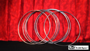 12 inch Linking Rings SS (8 Rings)