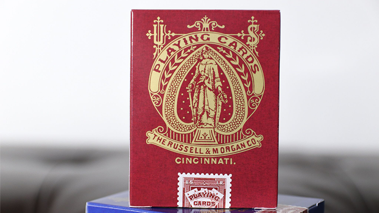 Limited Late 19th Century Square Faro Standard Playing Cards