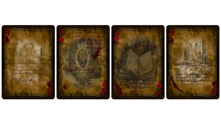 Necronomicon Playing Cards