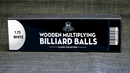 "Wooden Billiard Balls (1.75"")"