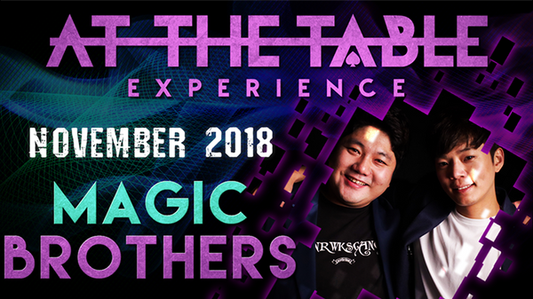At The Table Live Lecture - Magic Brothers