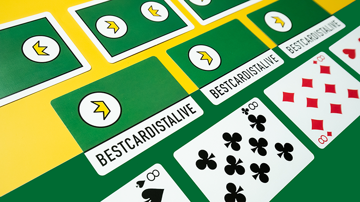 BCA Green Playing Cards