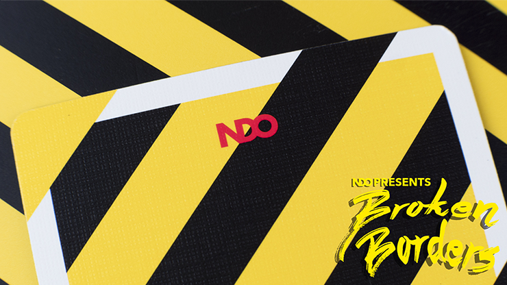 NDO Broken Borders Playing Cards
