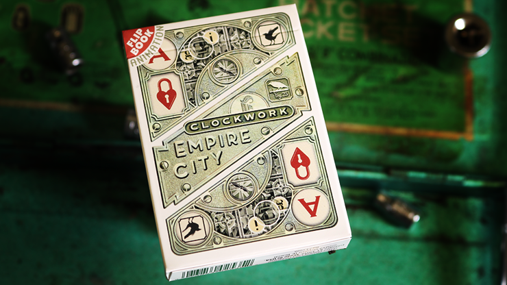 Clockwork Empire Playing Cards