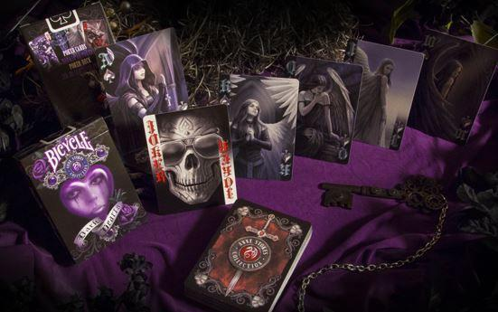 Dark Hearts Playing Cards