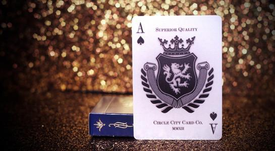 Heraldry Playing Cards - Azure