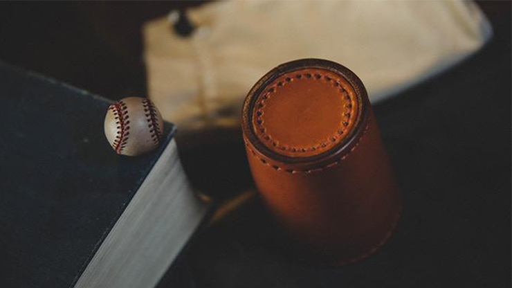 Leather Chop Cup with Balls