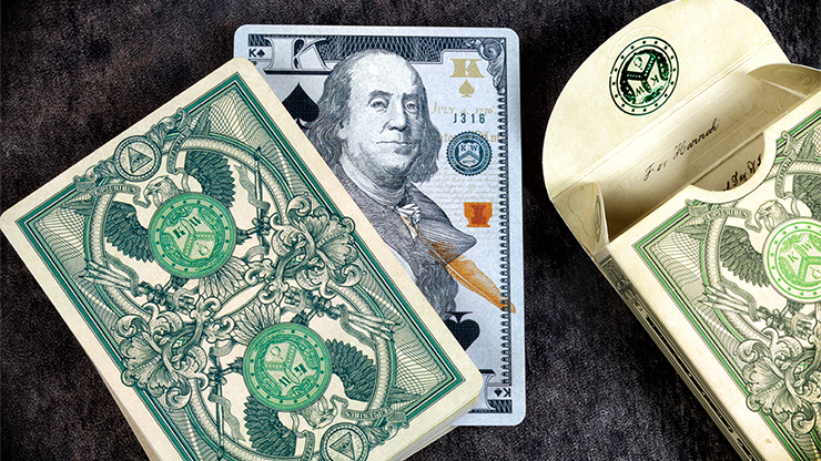 Legal Tender Playing Cards (US Version)