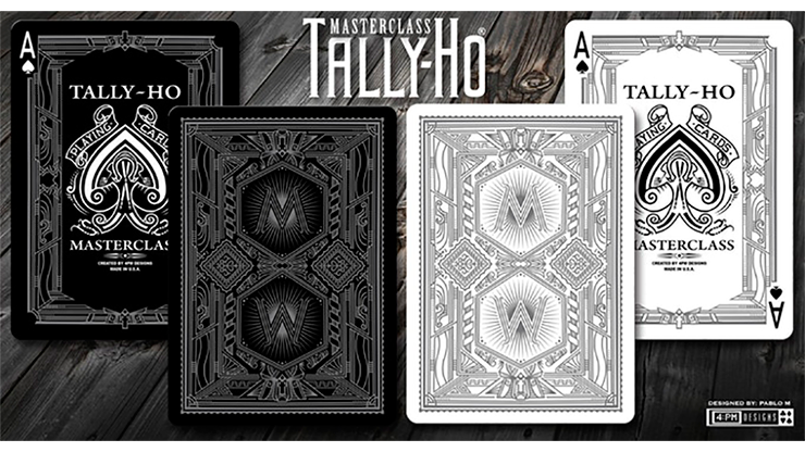 Limited Edition Tally-Ho Masterclass Playing Cards