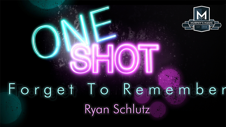 MMS ONE SHOT - Forget to Remember - Ryan Schlutz