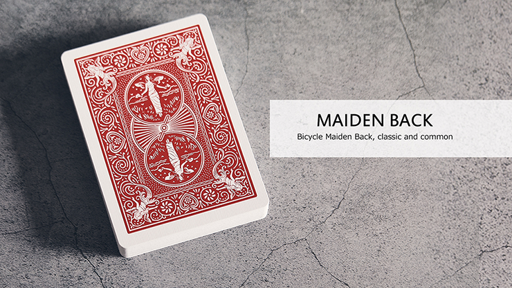 Bicycle Maiden Marked Playing Cards