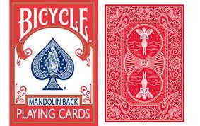 Mandolin Back Playing Cards
