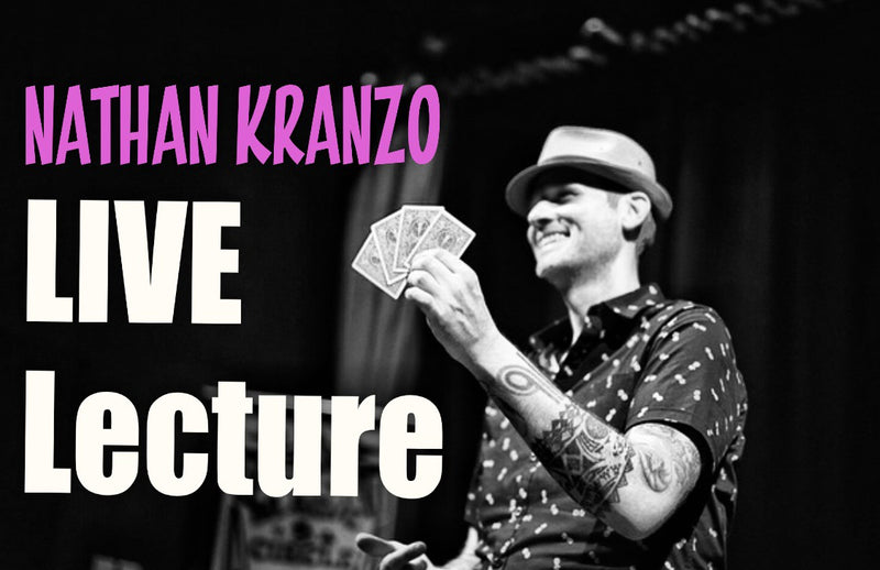 White Rabbit Lecture Series: Nathan Kranzo Live Lecture