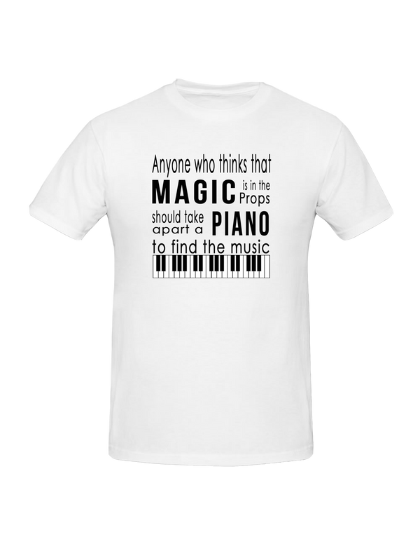 T-Shirt - Magic and Music Quote?