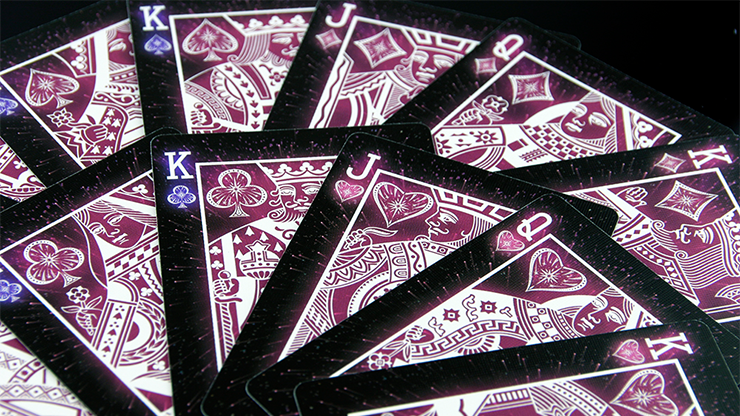 Starlight Shooting Star Playing Card