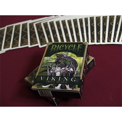 Viking Iron Scale Playing Cards