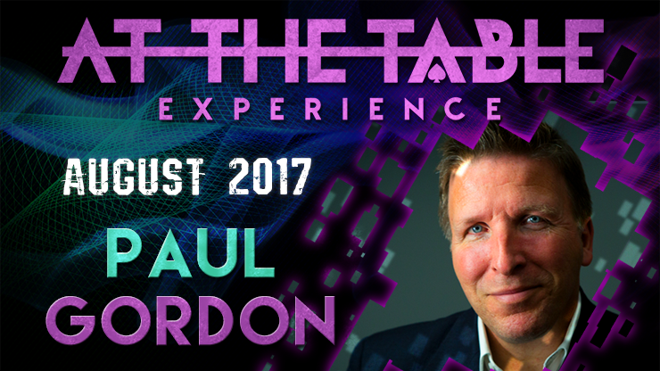 At The Table Live Lecture - Paul Gordon