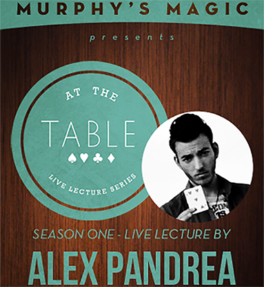 At The Table Live Lecture - Alex Pandrea