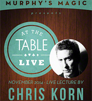 At The Table Live Lecture - Chris Korn